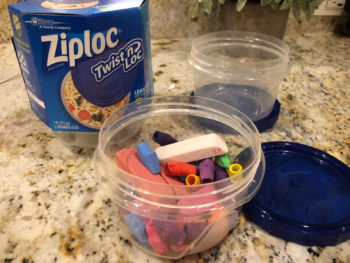 Ziploc® Twist 'n Loc® Containers Help Keep Your Items Organized And Contained! on I Heart Publix