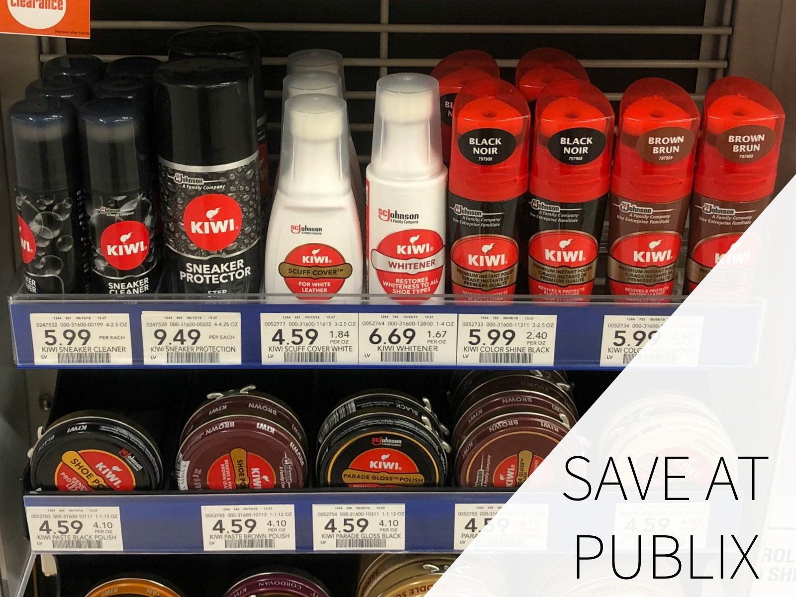 Keep Your Sneakers Looking Great With KIWI® Sneaker Products on I Heart Publix