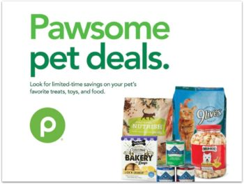 "New Publix Pet Booklet ""Pawsome Pet Deals"" - Coupons Valid Through 7/1 on I Heart Publix"