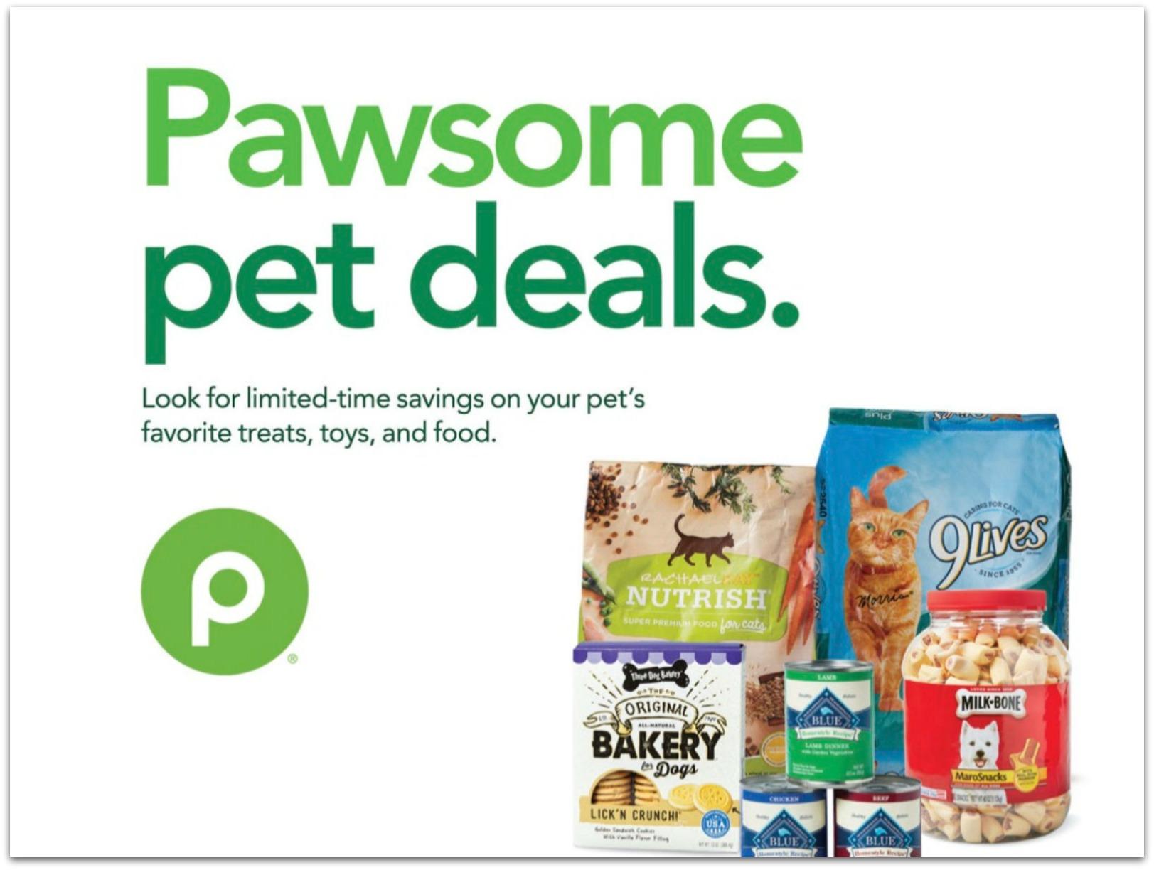 """New Publix Pet Booklet """"Pawsome Pet Deals"""" - Coupons Valid Through 7/1 on I Heart Publix"""