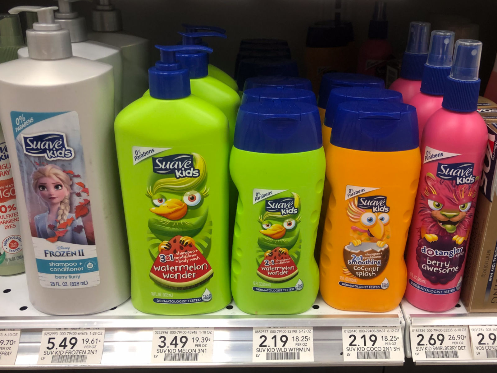 Lots Of Suave Deals - Kids Hair Care Only 69¢ At Publix on I Heart Publix 1