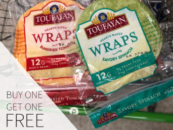 Stock Up On Toufayan Wraps At Publix - Buy One, Get One FREE! on I Heart Publix 1