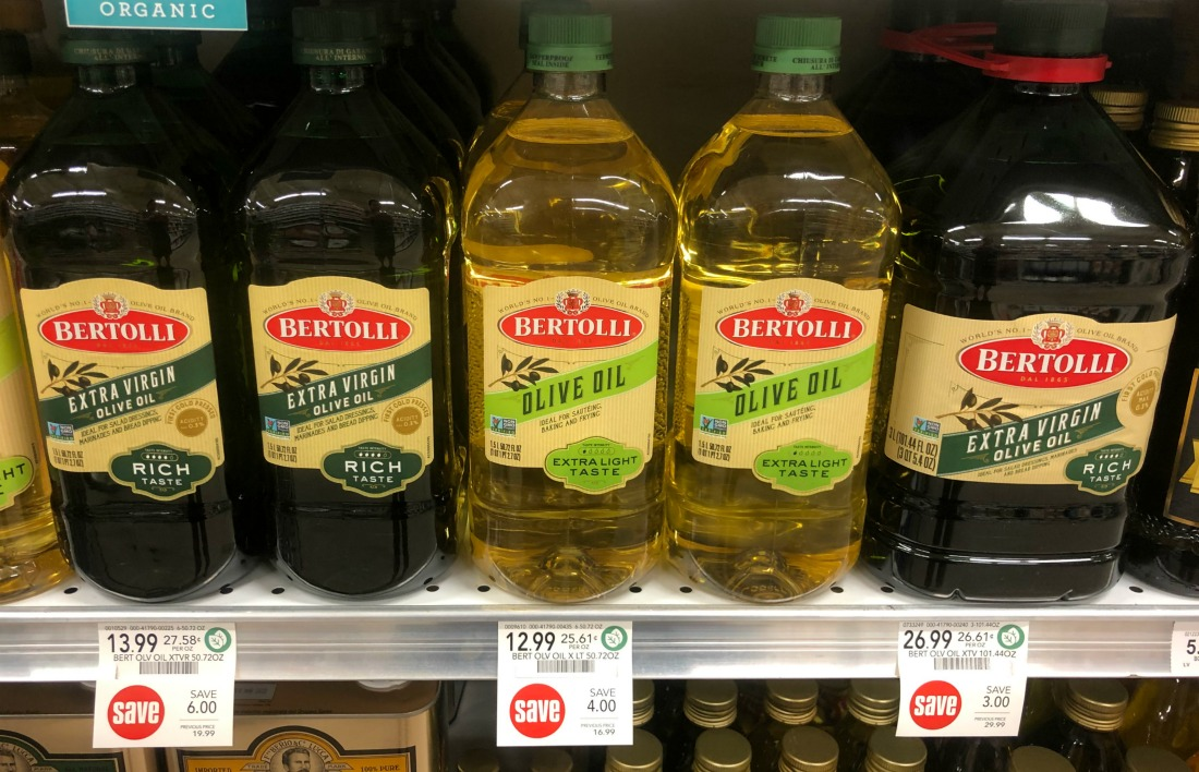 New Bertolli Olive Oil Coupon For Publix Sale - Save Up To $7.50!! on I Heart Publix