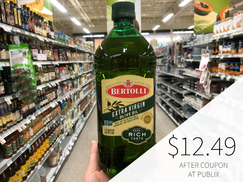 New Bertolli Olive Oil Coupon For Publix Sale - Save Up To $7.50!! on I Heart Publix 1