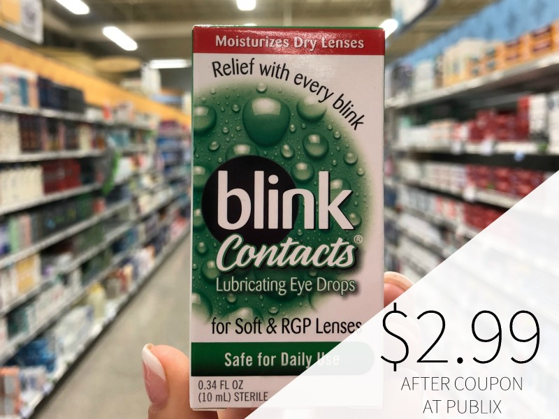 Blink Eye Drops As Low As $2.99 (Less Than Half Price!) on I Heart Publix 1