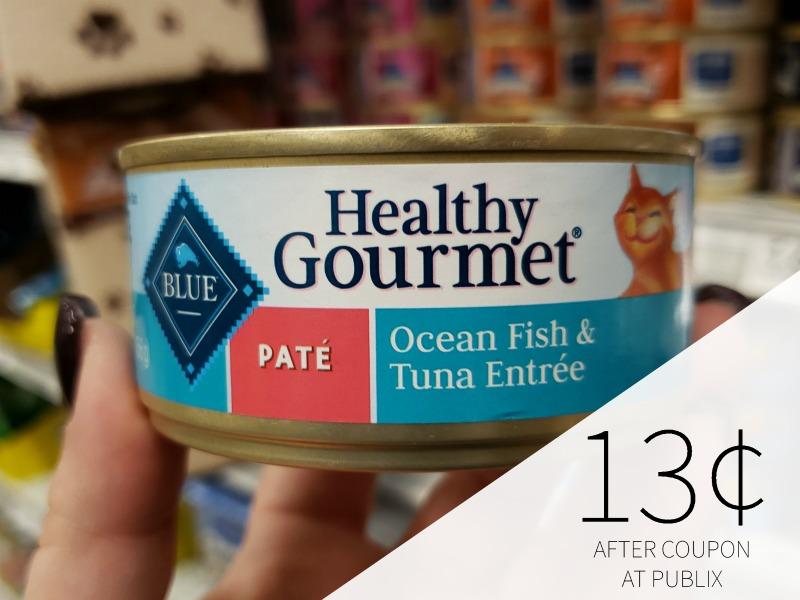 Blue Buffalo Healthy Gourmet Cat Food Just 20¢ At Publix on I Heart Publix 1