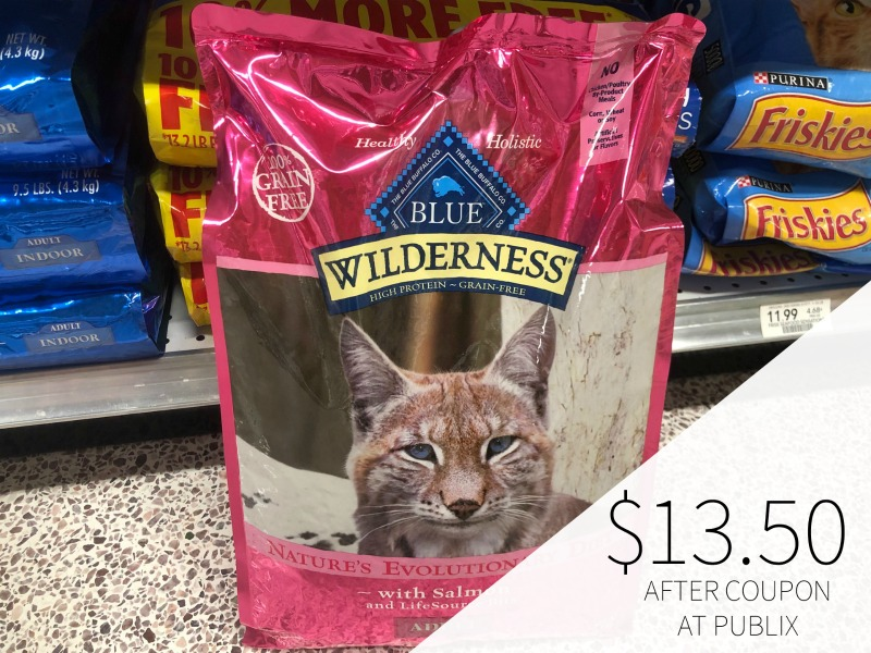 New Blue Dog or Cat Food Coupon - Cat Food Just $13.50 (Reg $32.99!!) on I Heart Publix 1
