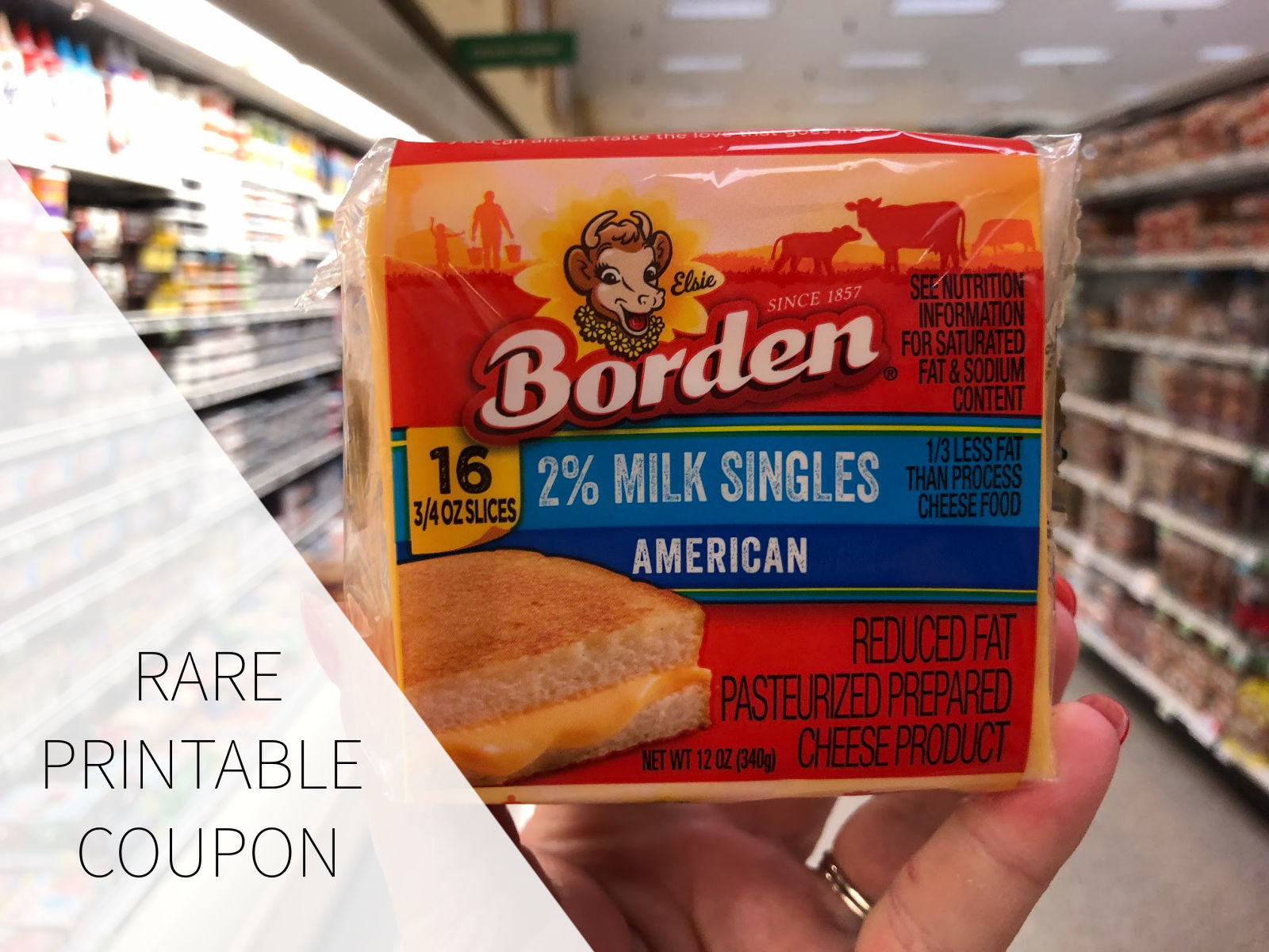 Rare Borden Cheese Coupon To Print on I Heart Publix
