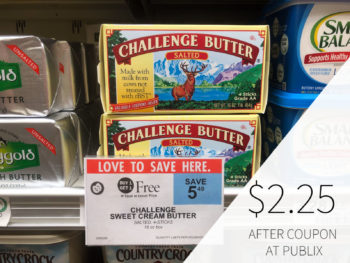 HOT DEAL - Challenge Butter Is Buy One, Get One FREE At Publix- Use It To Make My Rustic Cherry Tart on I Heart Publix