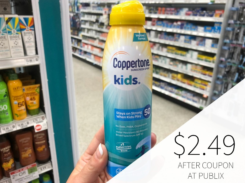 New Coppertone Coupon - Sun Care Product Only $2.99 After Coupons At Publix on I Heart Publix 1