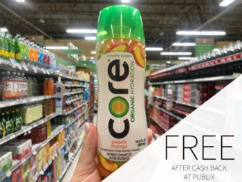 FREE Core Organic Hydration At Publix on I Heart Publix 1