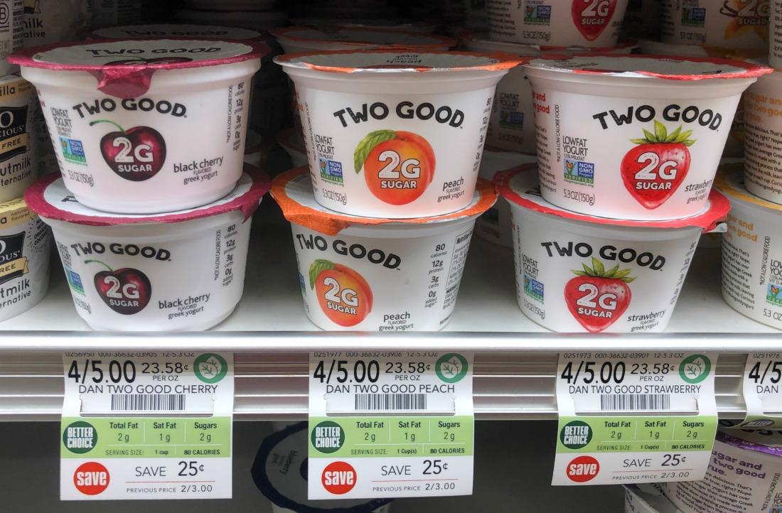 Two Good Yogurt Just 75¢ At Publix (Half Price) on I Heart Publix