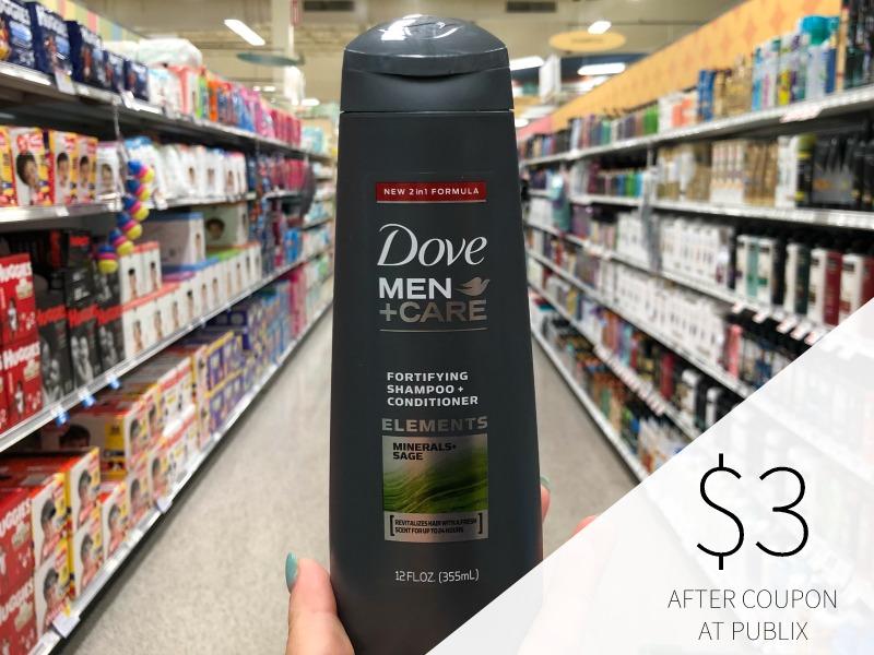 Dove Men+Care Body Wash Just $2 Per Bottle on I Heart Publix 1