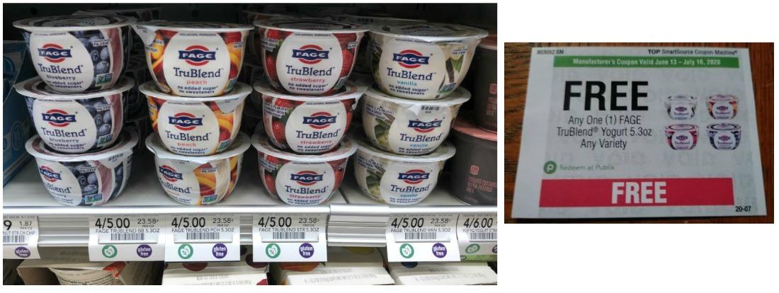 FAGE TruBlend Greek Yogurt Just 70¢ At Publix on I Heart Publix 1