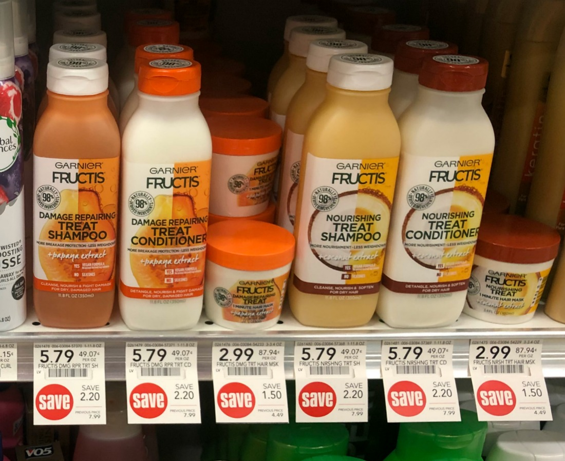 Garnier Fructis Treat Shampoo & Conditioner Only $1.79 At Publix on I Heart Publix