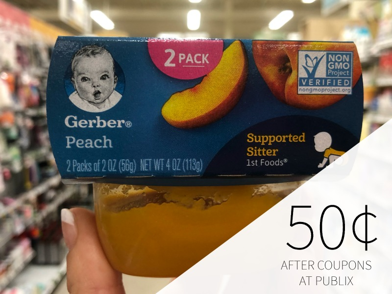 Gerber Baby Food Just 50¢ Per Pack At Publix on I Heart Publix 1