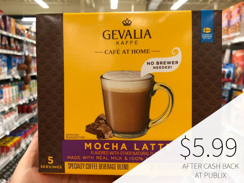 Save On Gevalia Café at Home And Gevalia Frappe Products At Your Local Publix on I Heart Publix 3