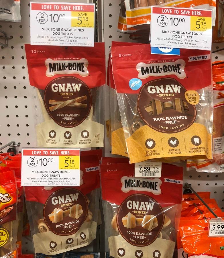 Milk-Bone Gnaw Bones Just $3 At Publix (Regular Price $7.59)