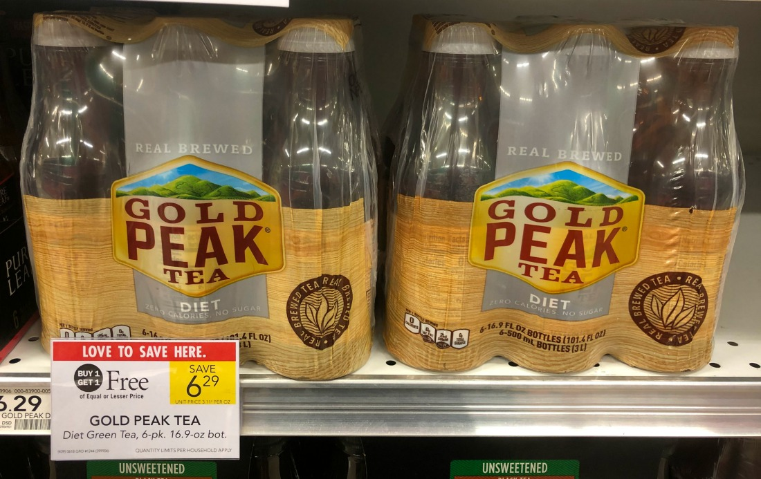 Gold Peak Tea 6-pk As Low As $1.15 At Publix on I Heart Publix