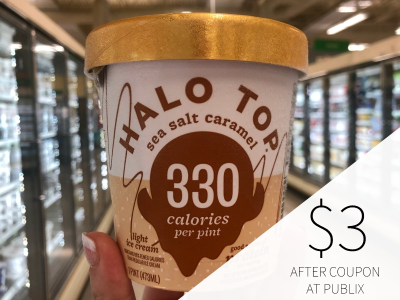 Halo Top Ice Cream Pints As Low As $3.49 At Publix on I Heart Publix 1