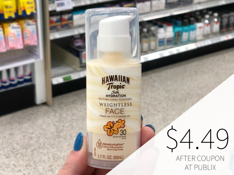 Hawaiian Tropic Suncare Products As Low As $5.49 At Publix on I Heart Publix 2
