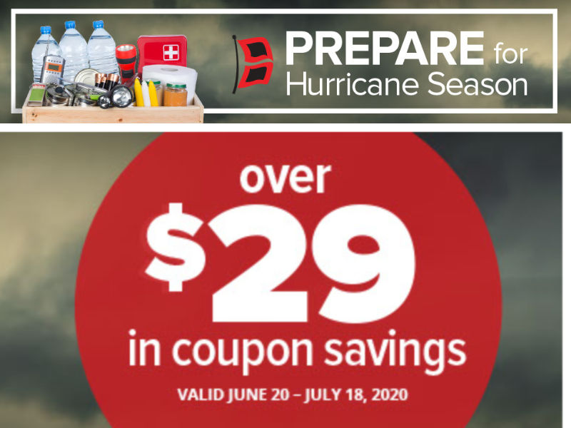 New Publix Coupons Prepare For Hurricane Season Valid Through 7 18