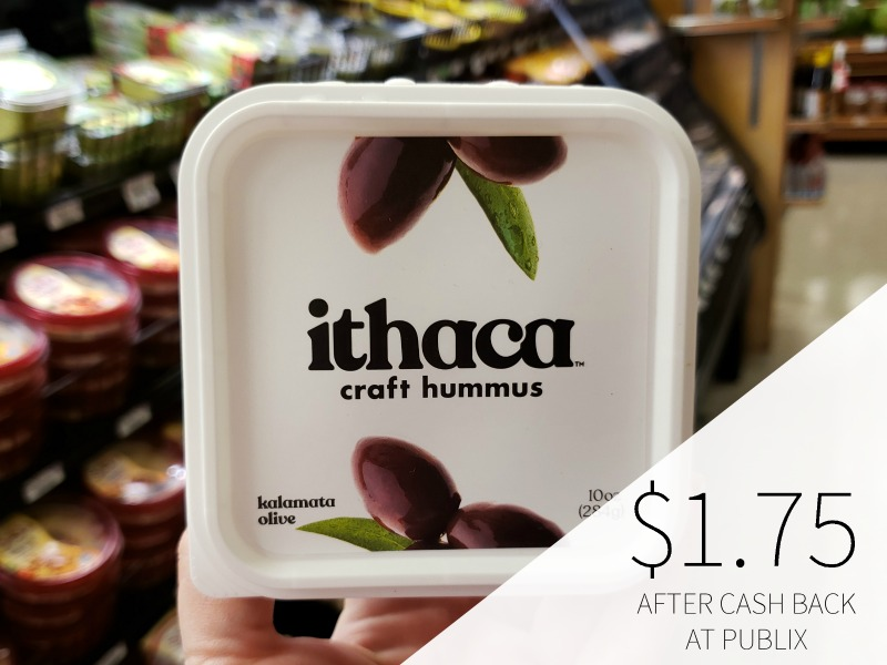 Ithaca Hummus As Low As $1.24 At Publix (Reg $4.99) on I Heart Publix 2