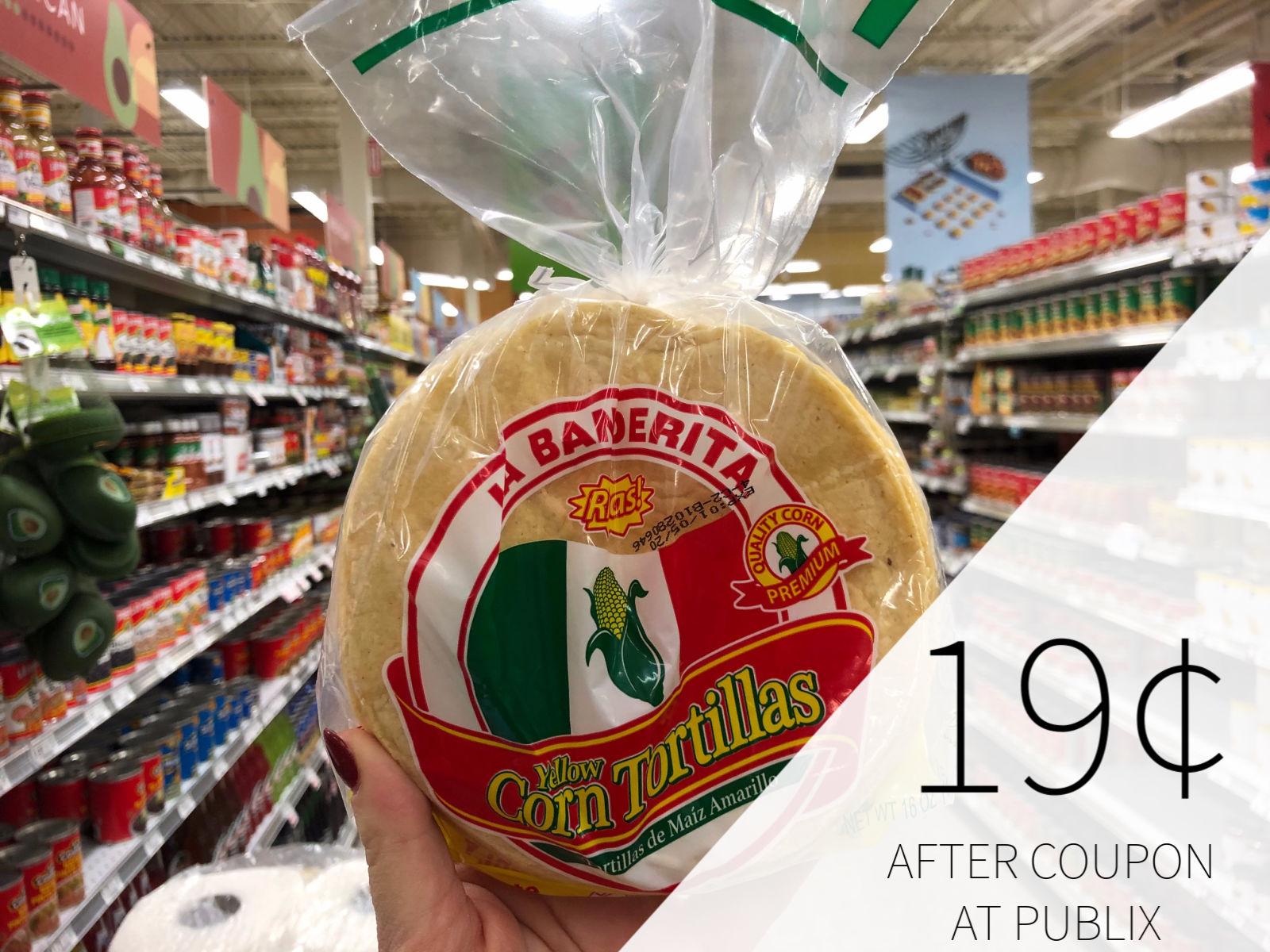 La Banderita Corn Tortillas Just 60¢ At Publix on I Heart Publix