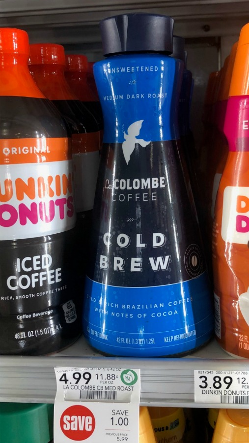 La Colombe Cold Brew Just $1 At Publix (Regular Price $5.99) on I Heart Publix 1