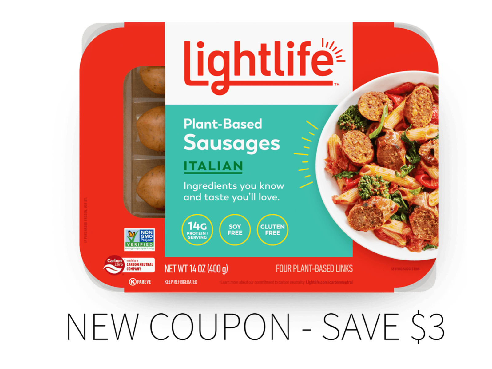 $3 Off Lightlife Dinner Sausage - New Coupon! on I Heart Publix