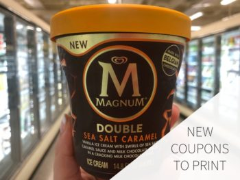 New Magnum Coupons To Print on I Heart Publix 1