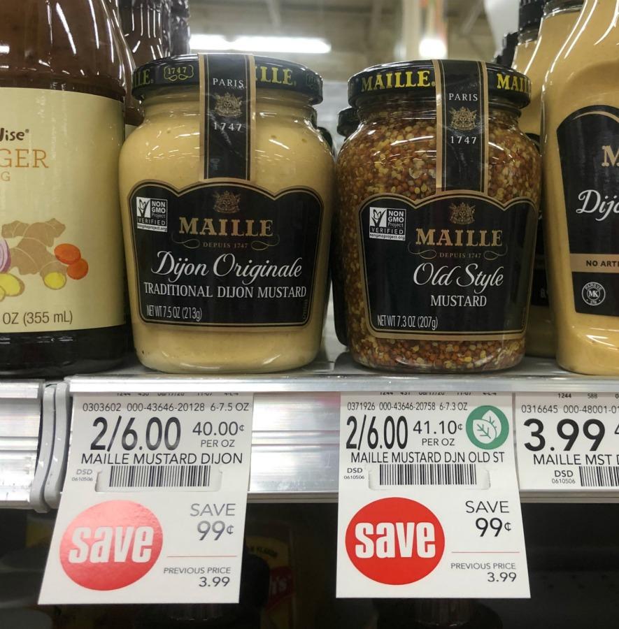 Maille Dijon Originale Mustard Just $1 At Publix on I Heart Publix