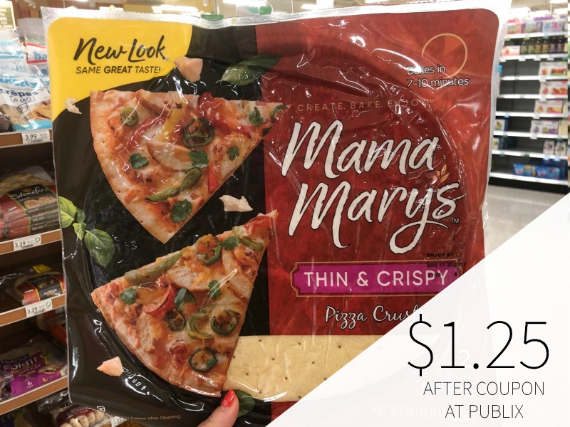 Mama Mary's Pizza Crusts Are As Low As $1.25 At Publix on I Heart Publix