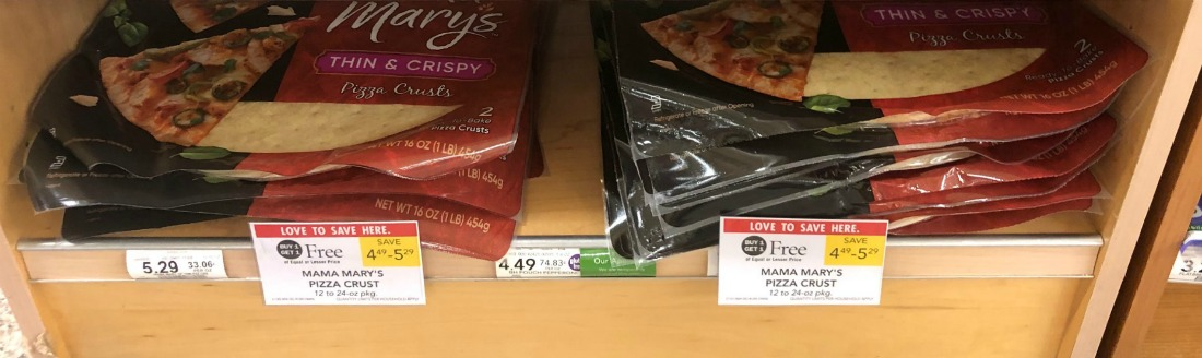 Mama Mary's Pizza Crusts Are As Low As $1.25 At Publix on I Heart Publix 1