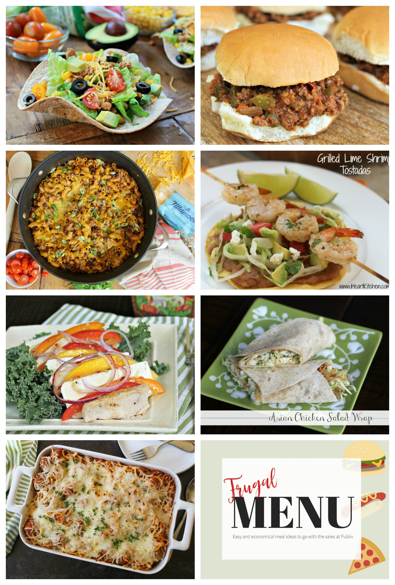 Frugal Family Menu For The Publix Sales Starting 6/18 – Seven Meals That Won't Break Your Budget on I Heart Publix 1