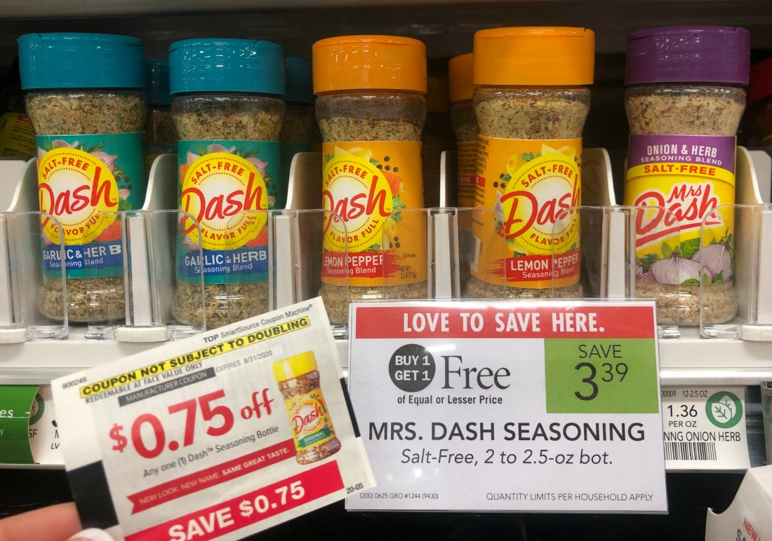 Mrs. Dash Seasoning Blends Only 65¢ At Publix on I Heart Publix 1