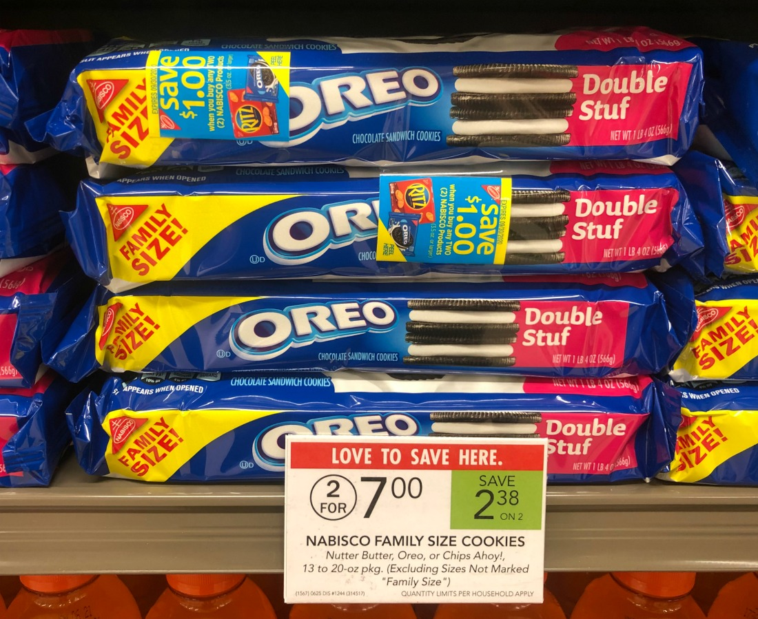 Nabisco Family Size Cookies As Low As $2.75 At Publix on I Heart Publix