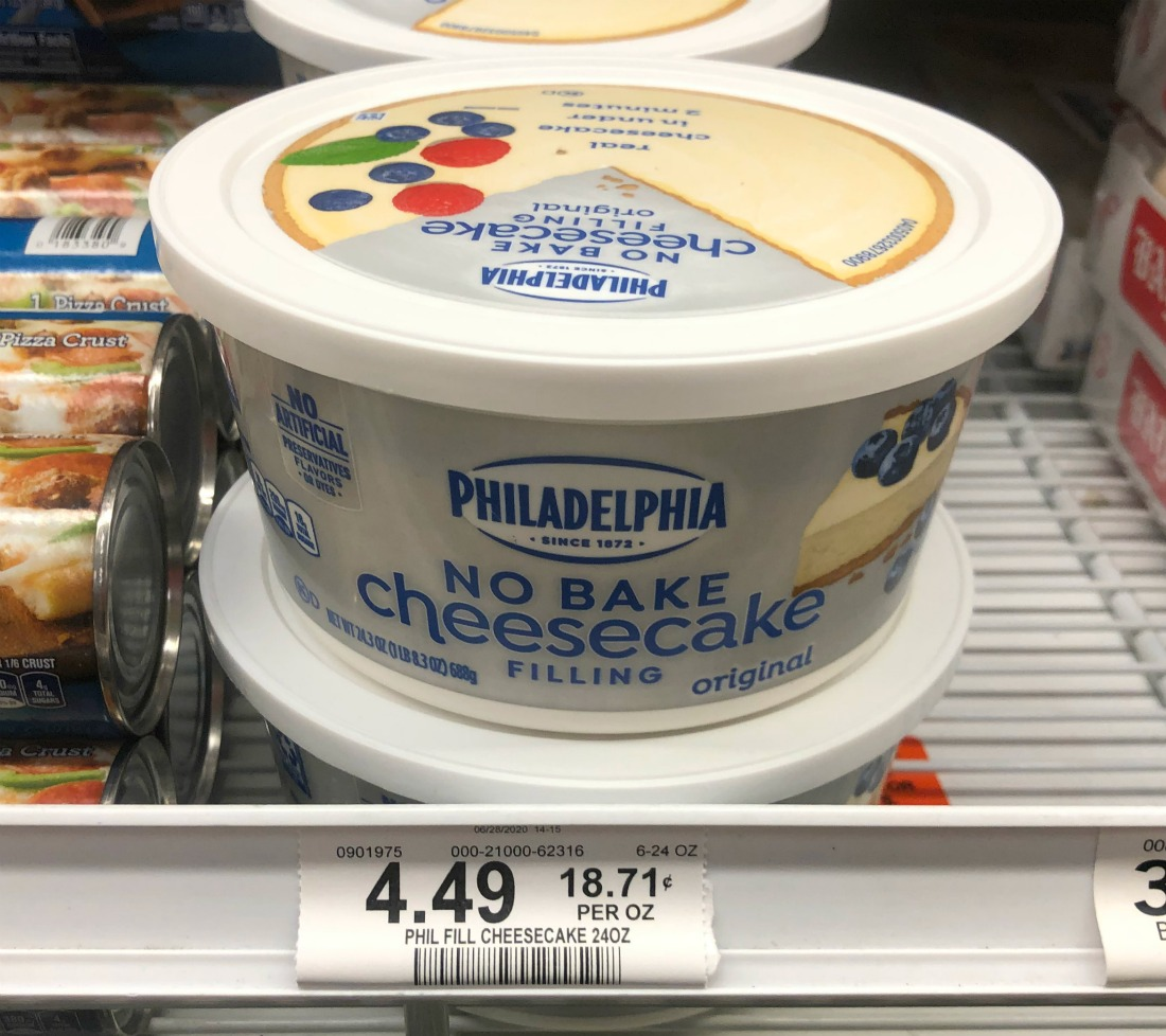 Philadelphia No Bake Cheesecake Filling - Save At Publix on I Heart Publix