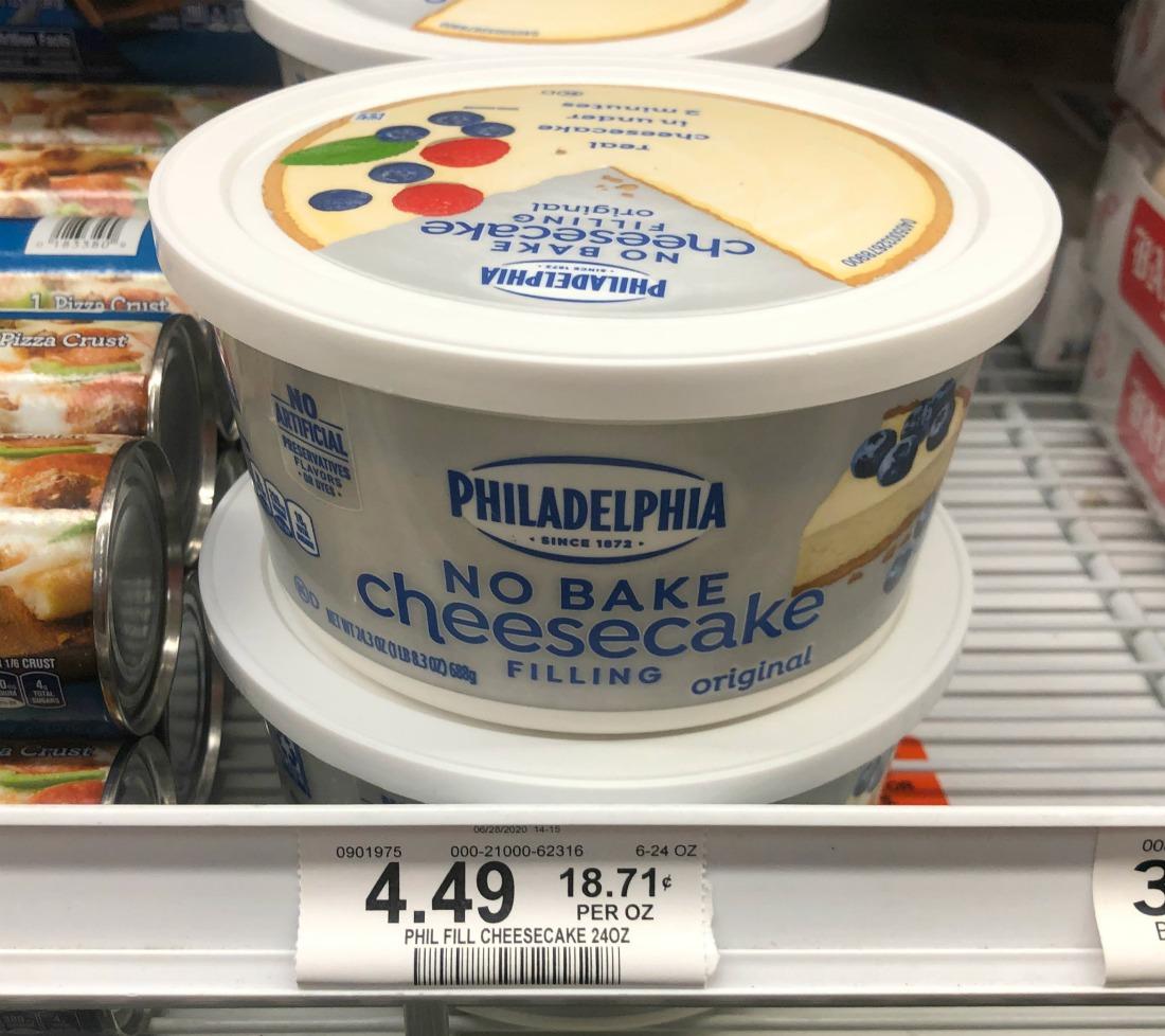 Philadelphia No Bake Cheesecake Filling - Save At Publix on I Heart Publix