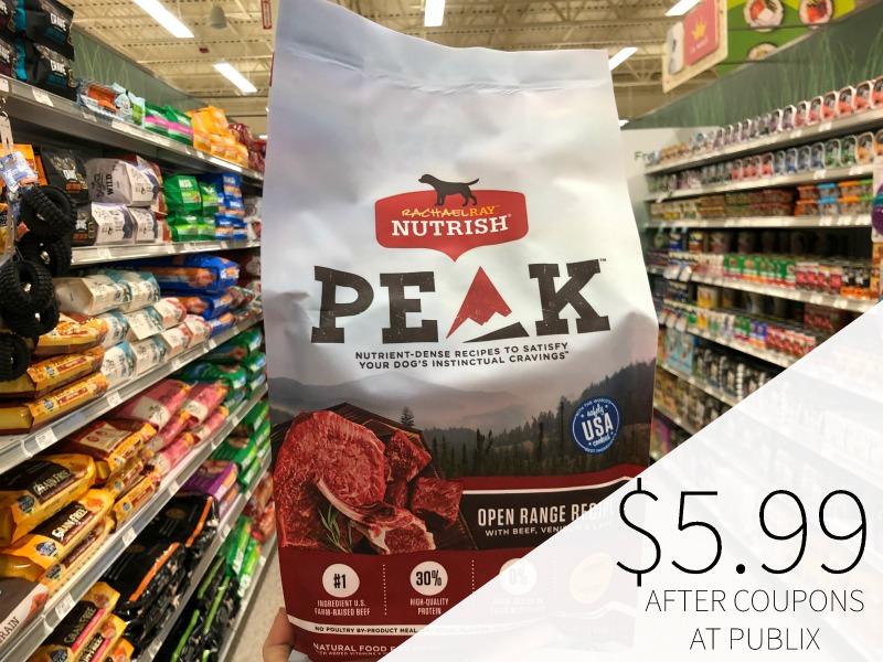 Rachael Ray Nutrish Peak Dog Food - Just $5.99 At Publix (Regular Price $11.99) on I Heart Publix 1