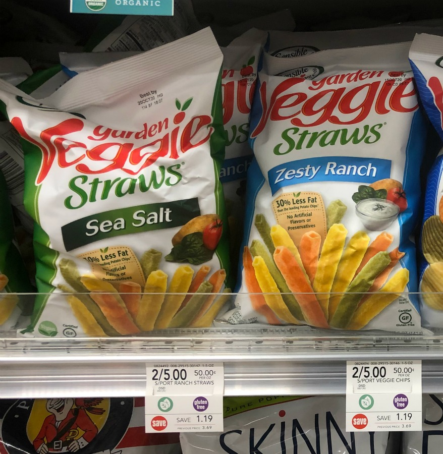 Sensible Portions Garden Veggie Straws Or Chips Just $1.46 Per Bag At Publix on I Heart Publix