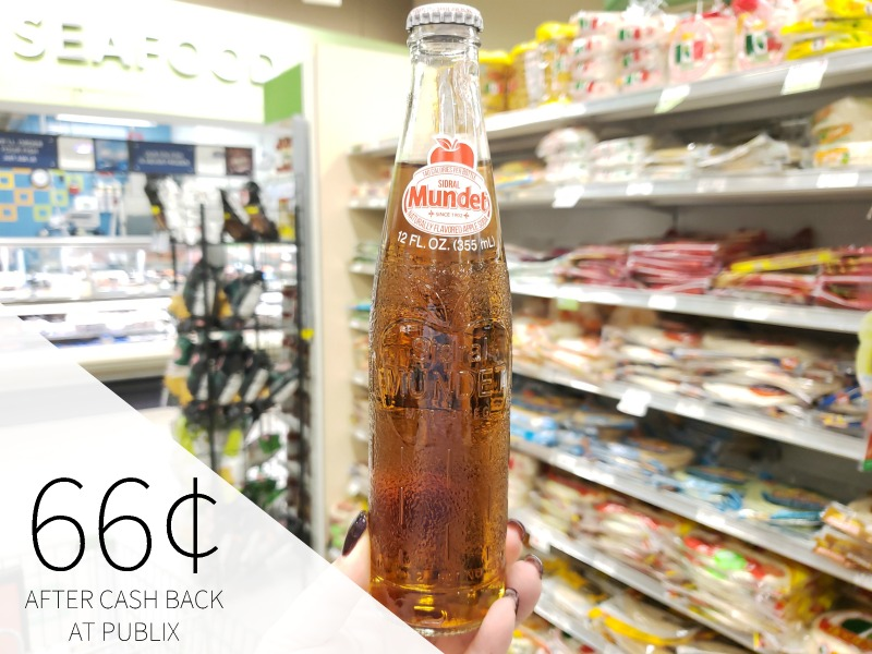 Sidral Mundet Apple Soda Just 66¢ At Publix on I Heart Publix