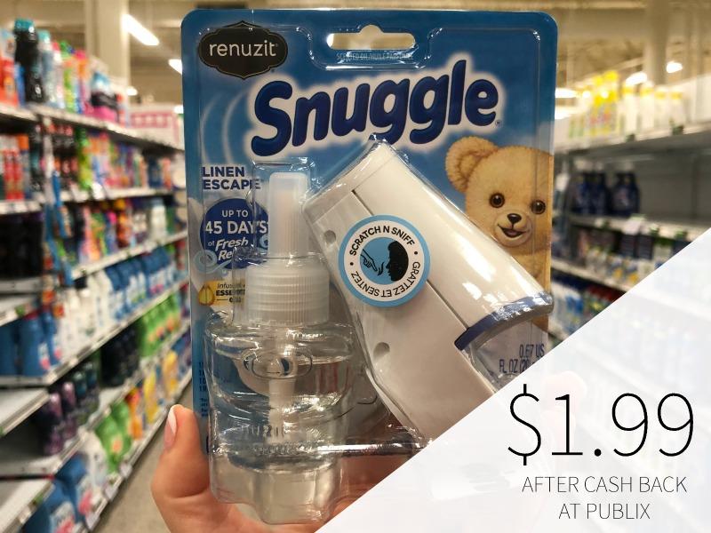 Renuzit Snuggle Oil Starter Kit - Just $1.99 on I Heart Publix