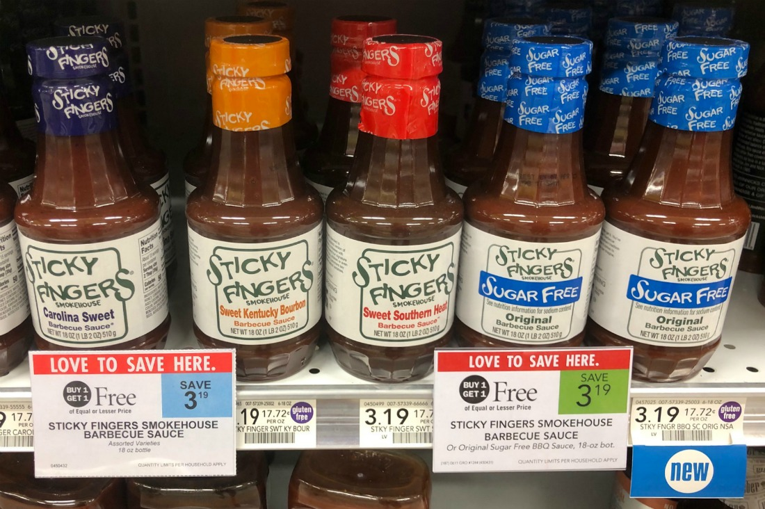 Sticky Fingers Smokehouse Barbecue Sauce As Low As 60¢ At Publix on I Heart Publix