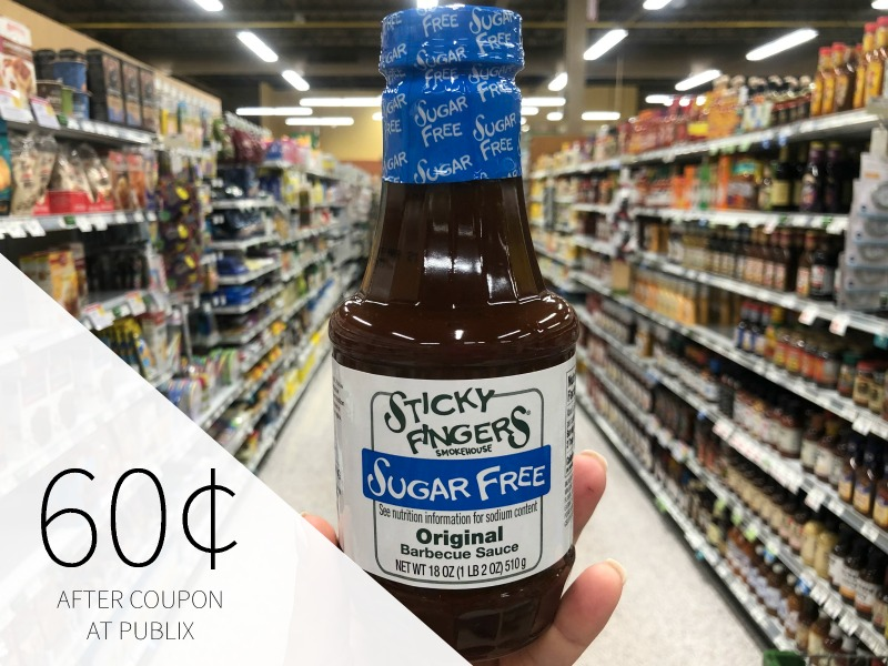 Sticky Fingers Smokehouse Barbecue Sauce Only 50¢ At Publix on I Heart Publix 2