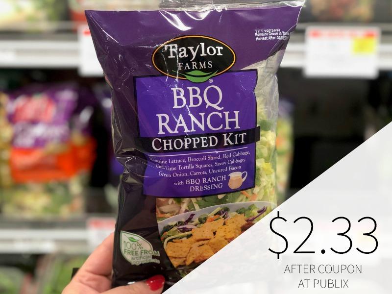 Taylor Farms Chopped Salad Kit Just $2.33 At Publix on I Heart Publix
