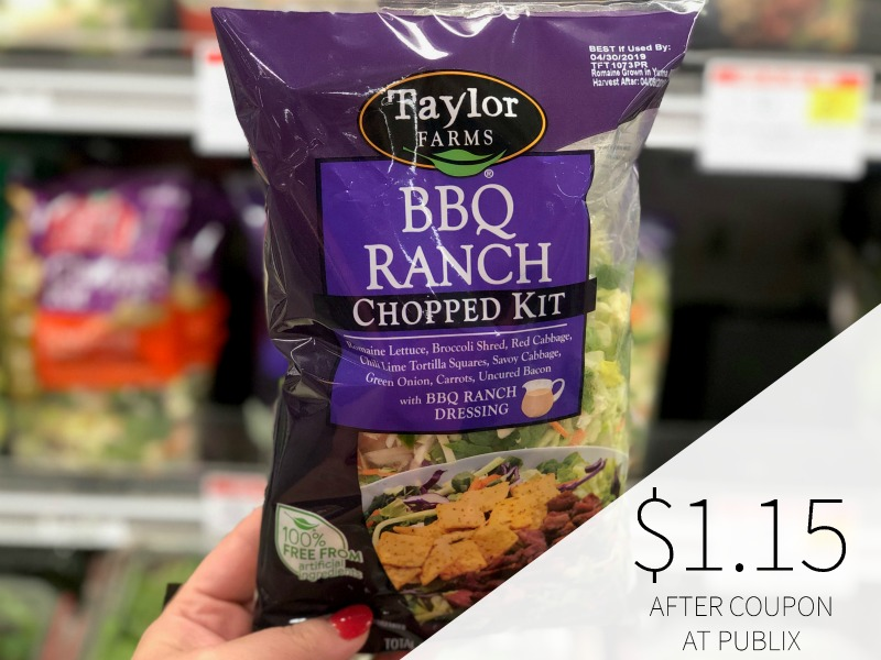 Taylor Farms Chopped Salad Kit Just $2.58 At Publix on I Heart Publix 3