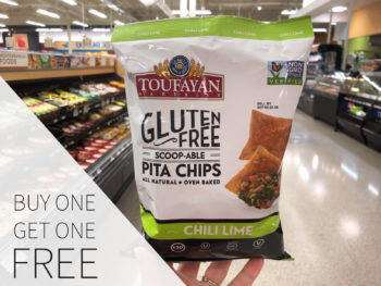 Toufayan Gluten-Free Scoop-Able Pita Chips Are Buy One, Get One FREE At Publix on I Heart Publix 1