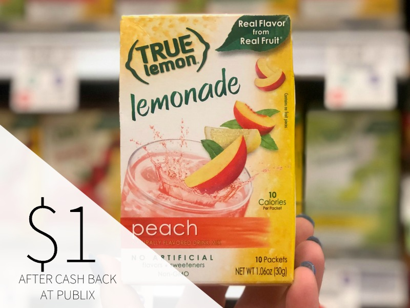 True Lemon Drink Mix Just $2 At Publix on I Heart Publix