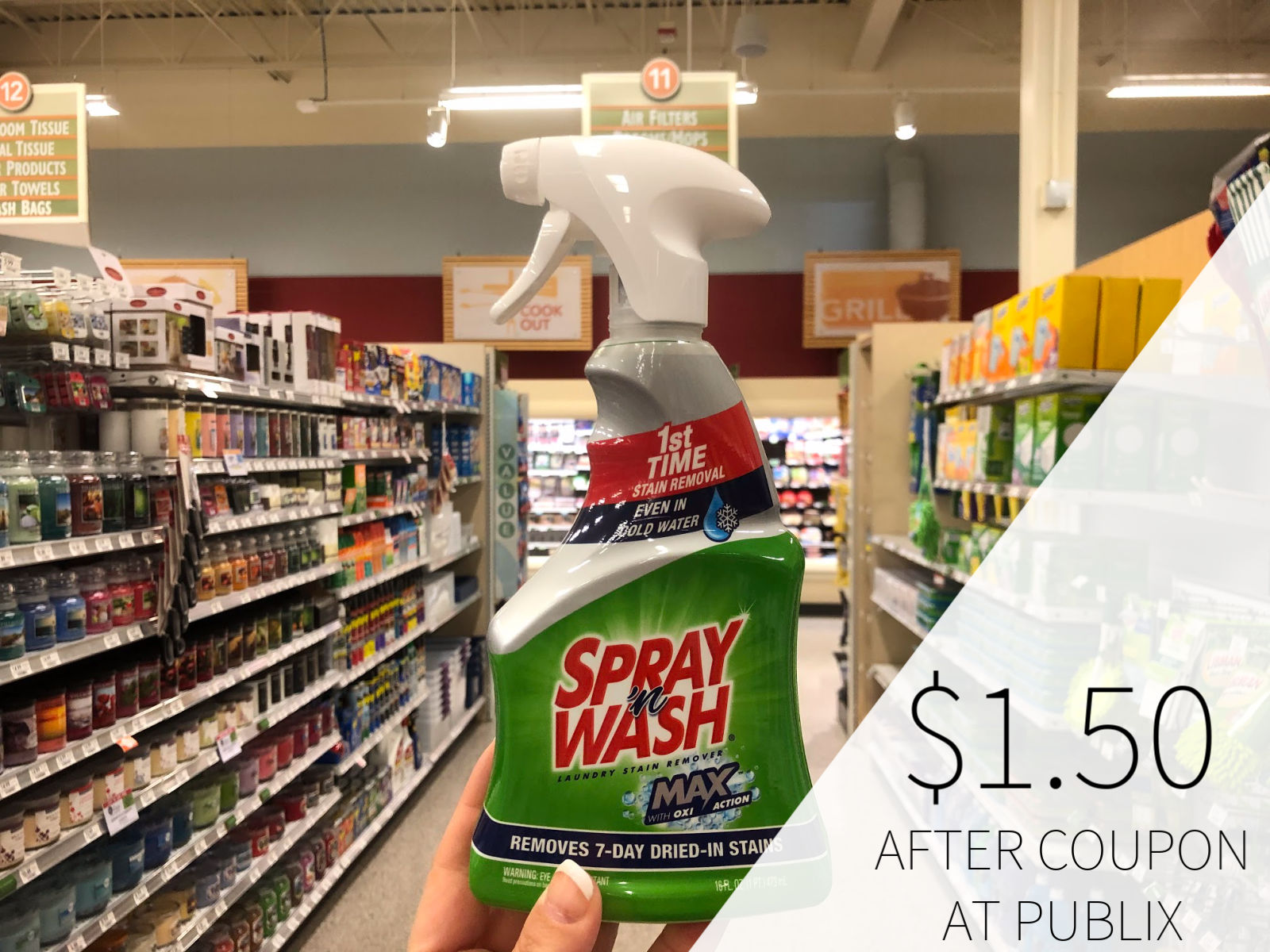 Spray 'n Wash Laundry Stain Remover Only $1.50 At Publix on I Heart Publix 3